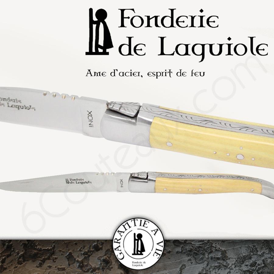 Coffret Couteaux De Table Laguiole Evolution Sens Assortis Lot De In November 2017