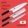 KAI japanese knives - SHUN PRO series - chefs knives
