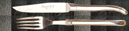 Laguiole knives, Box 6 steak knives Laguiole stainless steel