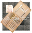 Le Thiers STAINLESS STEEL PRESTIGE - 12 table-covers (6knives and 6forks)  forged stainless steel - all of one piece  delivered in oak wooden box - suitable for dishwasher